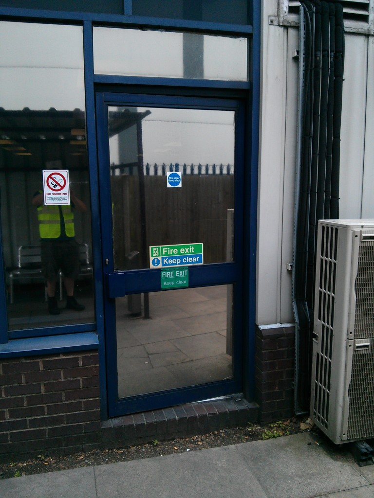 Aluminium Transom Closer Door for Commercial Door Repairs