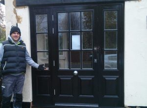 Door installation by our Door installers