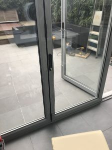 Aluminium Bifold Door Shoot Bolt & Locking Mechanism Replaced & Repaired London Hammersmith W14