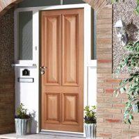 Exterior Panel Door
