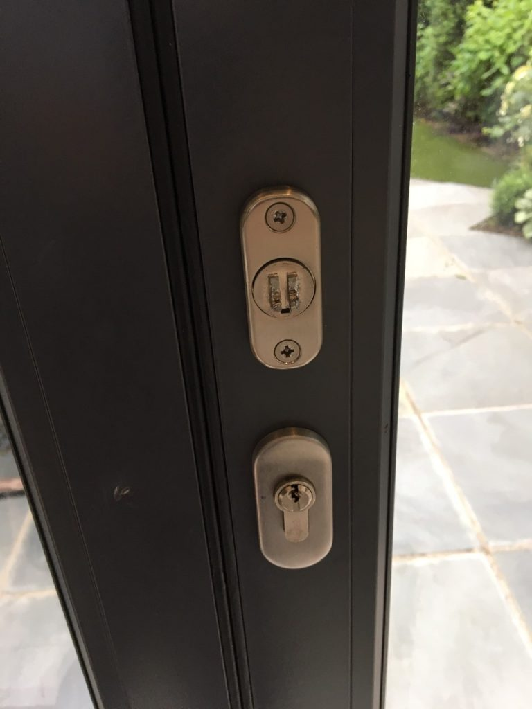 Broken Bi-folding Door Handle