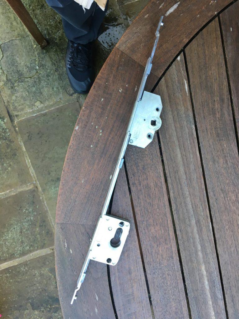 Broken Bi-folding Door Lock